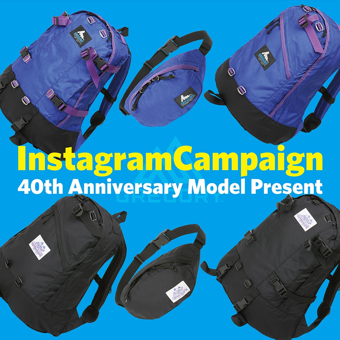 GREGORY Instagram Campaign 6/16 - 6/30