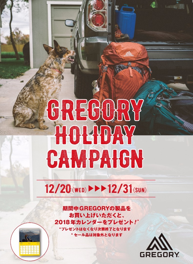 Gregory Holiday Campaign