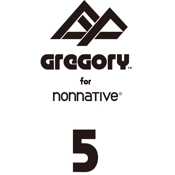 nonnative × GREGORY