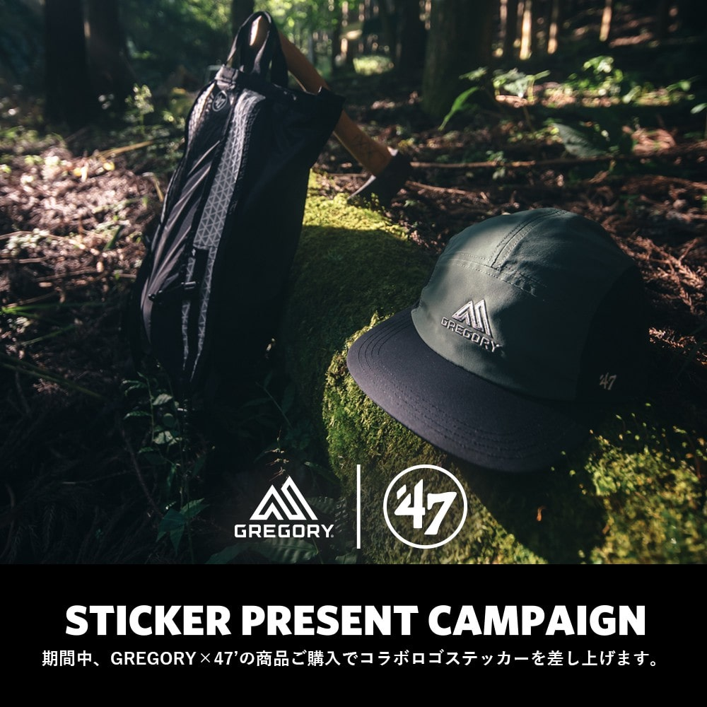 GREGORY×47 ' STICKER PRESENT CAMPAIGN