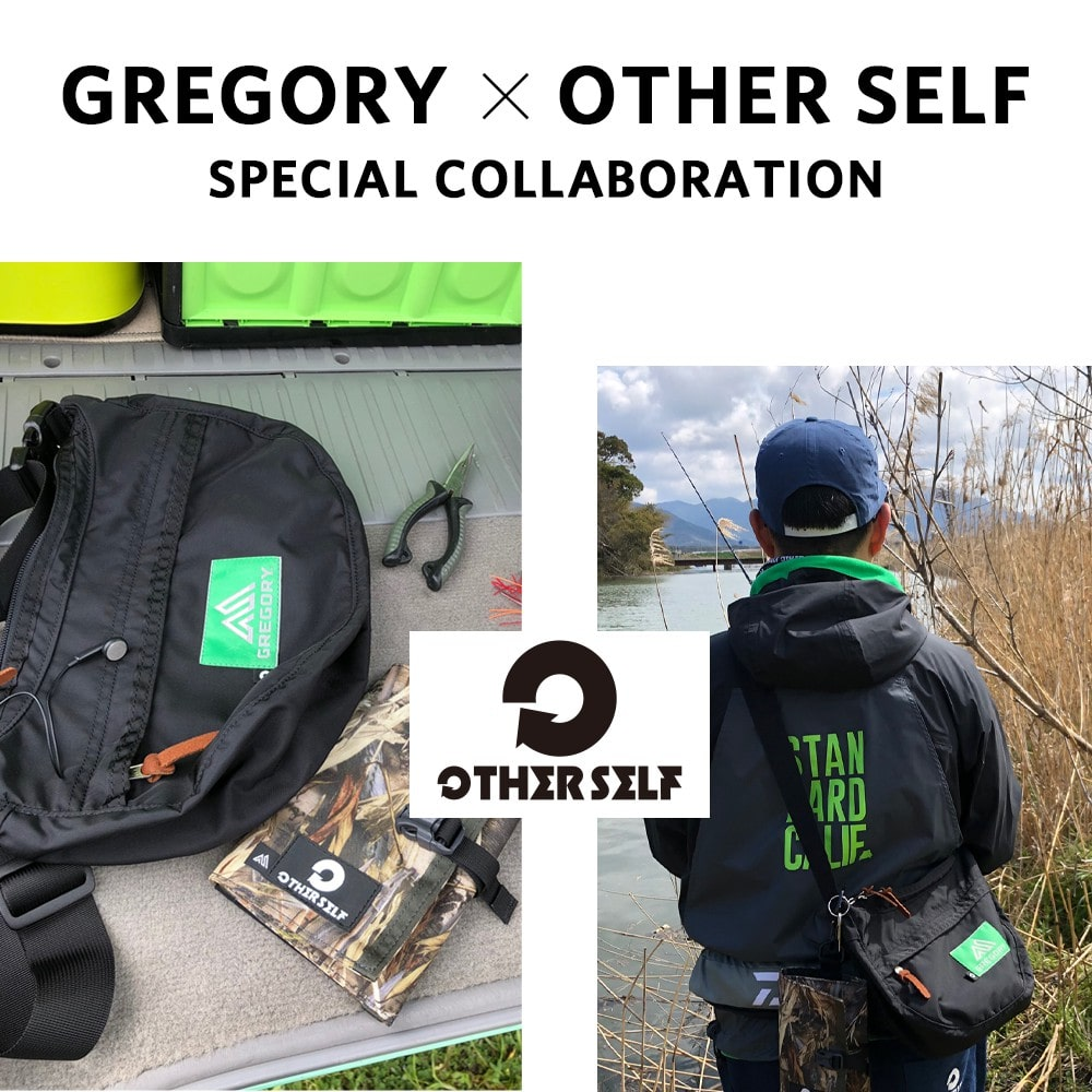 『GREGORY x OTHERSELF』 のスペシャルコラボレーションが登場